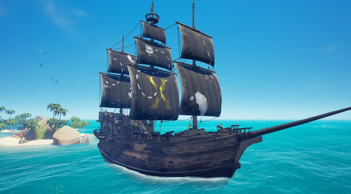 To celebrate 10 million pirates sailing the Sea of Thieves we're giving away the 'X' Marks the Spot Sails and emote! Just play the Legends of the Sea update in its first week (before Jan 22nd, 4pm GMT) to become eligible for these gifts and receive them in February's update!