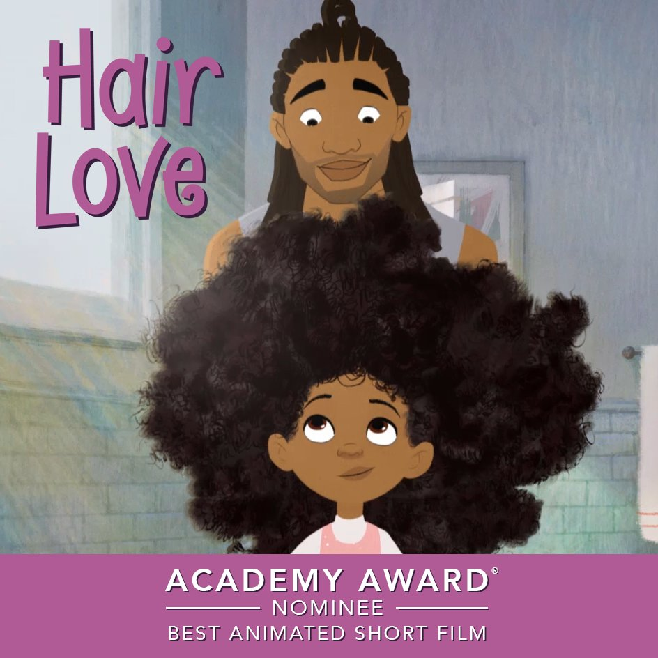 Are you ready to do this? Congrats to the #HairLove team for receiving an Academy Award nomination for Best Animated Short Film! #Oscars  #OscarNoms <br>http://pic.twitter.com/HGRVST4TDm