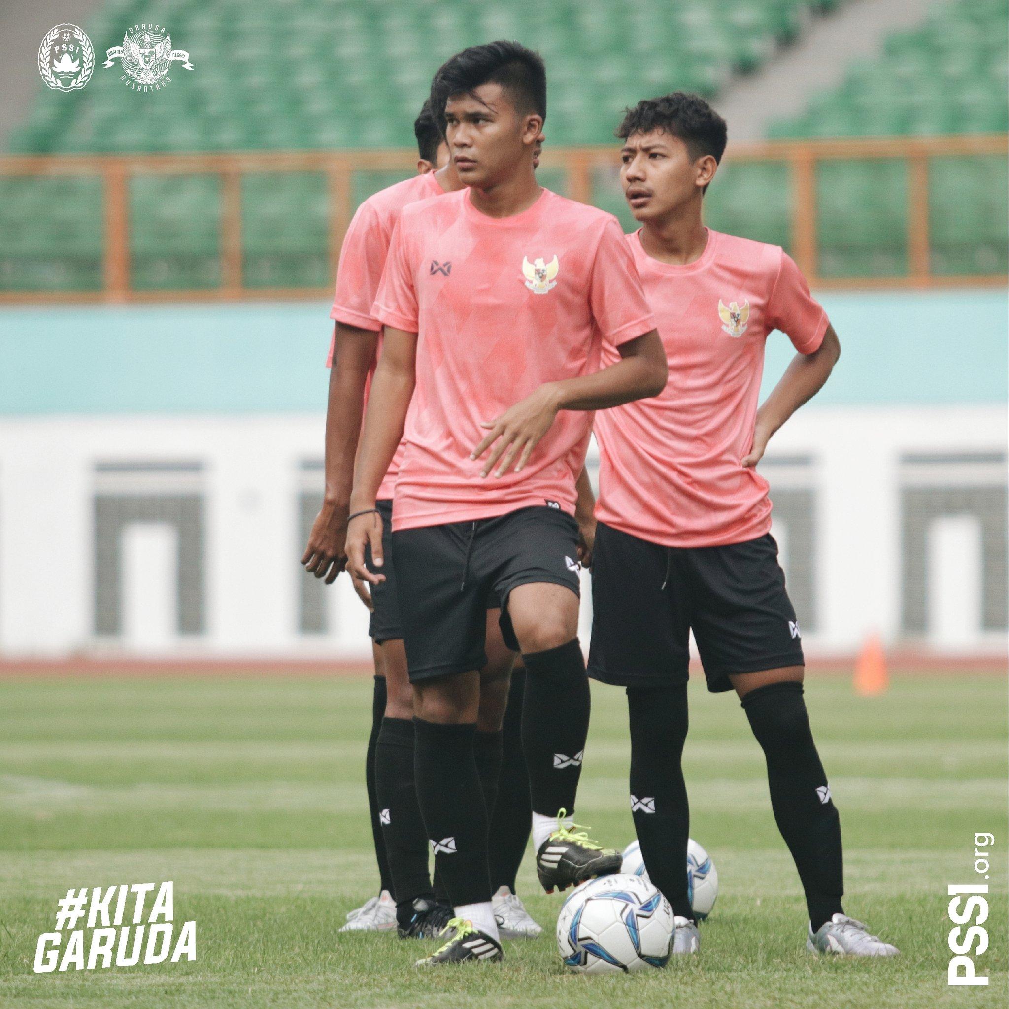 Suasana Latihan hari Pertama Timnas U19 Indonesia
