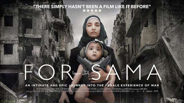FOR SAMA NOMINATED FOR OSCAR For Sama has been nominated for Best Feature Documentary at the Academy Awards. Directed by Waad al-Kateab and Edward Watts. Produced by Channel 4 News/ITN Productions for Channel 4 and Frontline PBS.