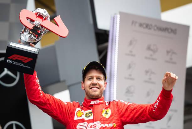 Sebastian Vettel - Recap of 2019 season:  Round 11 - German GP🇩🇪 Qualifying: 20th (turbo problem during Q1) Race: 2nd  #Seb5 #Vettel #SebastianVettel #GermanGP