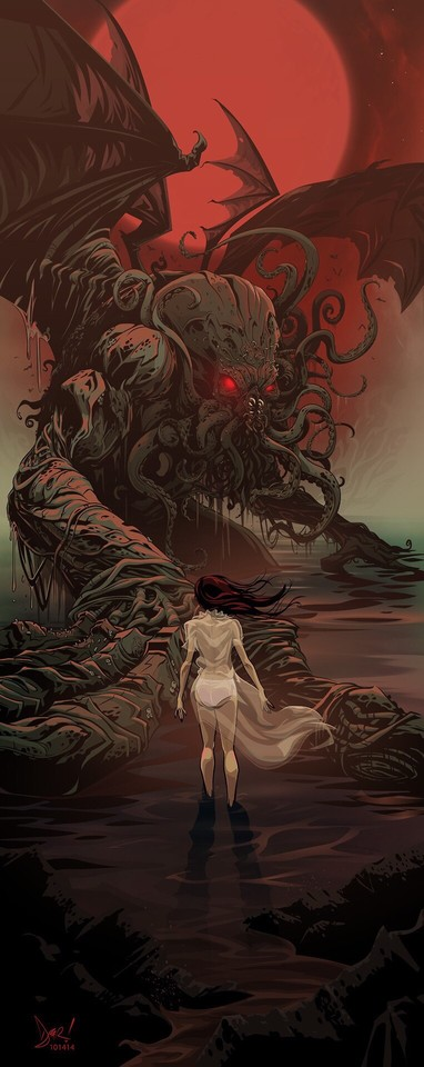 """He is Risen"" by Derek Ring#Cthulhu #Lovecraft #HPLovecraft #Lovecraftian #Mythos"