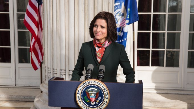 Happy Birthday Julia Louis Dreyfus! You make a wonderful president.
