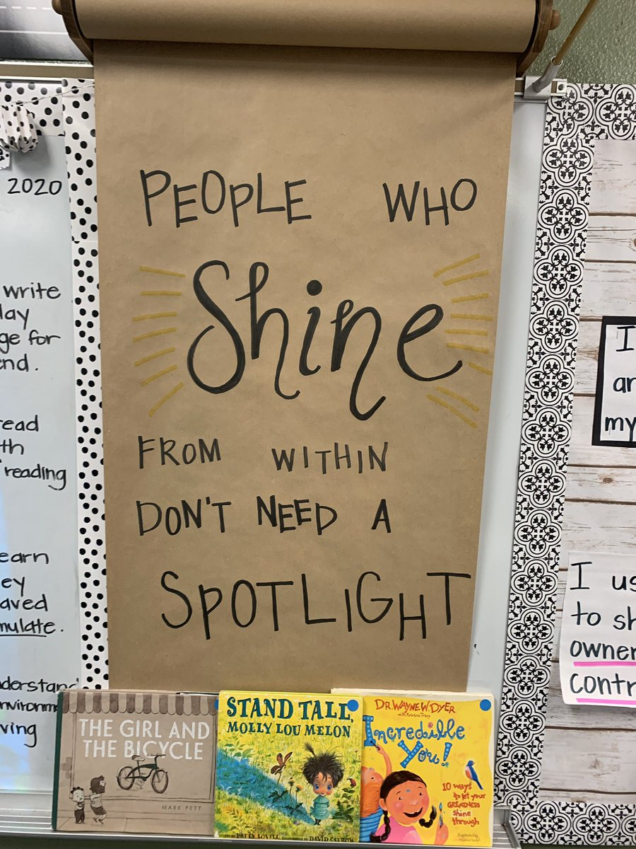 Love our #keepthequote this week! Ready for a wonderful week in 2nd Grade! 🌟🌟 #gesshineon