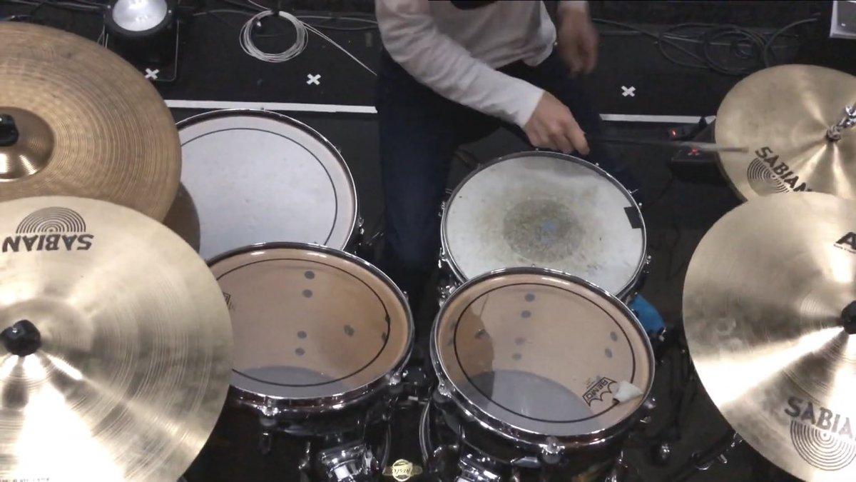 イニシャル(Short ver.) 叩いてみた(Drum Cover)新年一本目はバンドリからこの曲!画面揺れまくってます。#叩いてみた#PoppinParty#バンドリ
