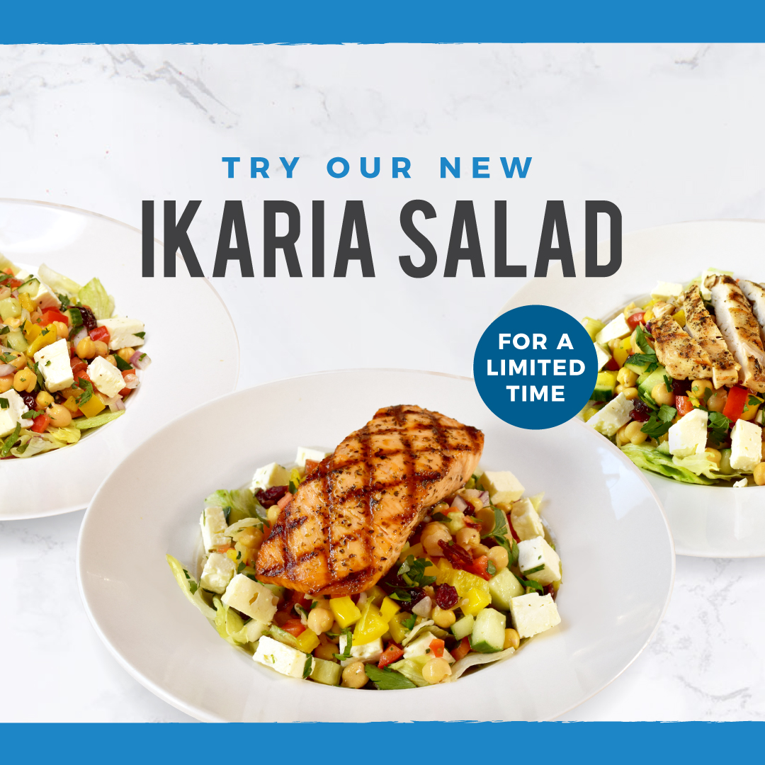Mr. Greek is excited to unveil its newest #fresh, #healthy and #delicious invention: The IKARIA Salad!  *Available for a limited time: today until March 1, 2020.#torontofood #toronto #torontocatering #cateringtoronto #torontodelivery #fooddeliverytoronto #gogreek #weinventedthis