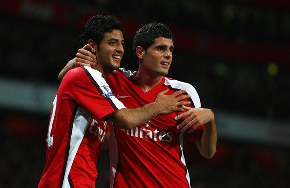 Carlos Vela and Fran Merida, 2008.
