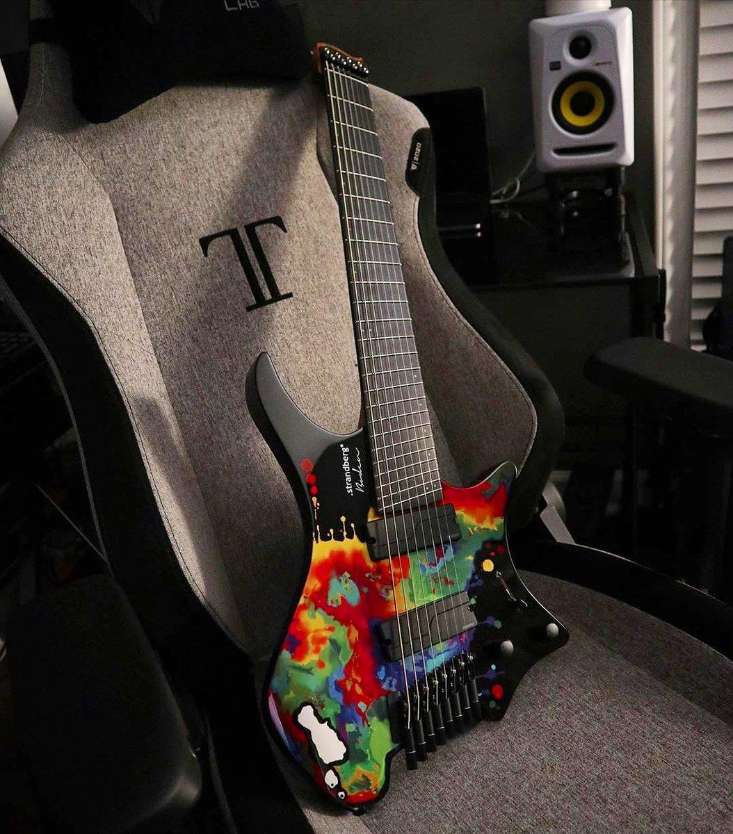 Happy new 8-String guitar day to IG @judge.shredd, who is thoroughly enjoying his @SarahLongfield Signature Boden! Happy music making Ryan! . . . #strandbergguitars #headlessguitars #boden #sarahlongfield #signaturemodel #8stringguitar #fishmanpickups #newgearday #goheadlesspic.twitter.com/DQYlotr8OK