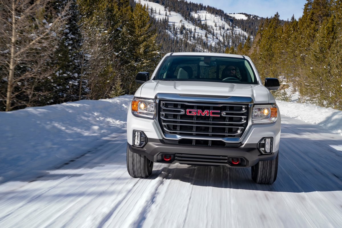 Good news, truck lovers...GMC today unveiled the first-ever Canyon AT4! Look for it at Wallace Chevrolet later this year. ⁣ https://t.co/H6k5YAdBIN