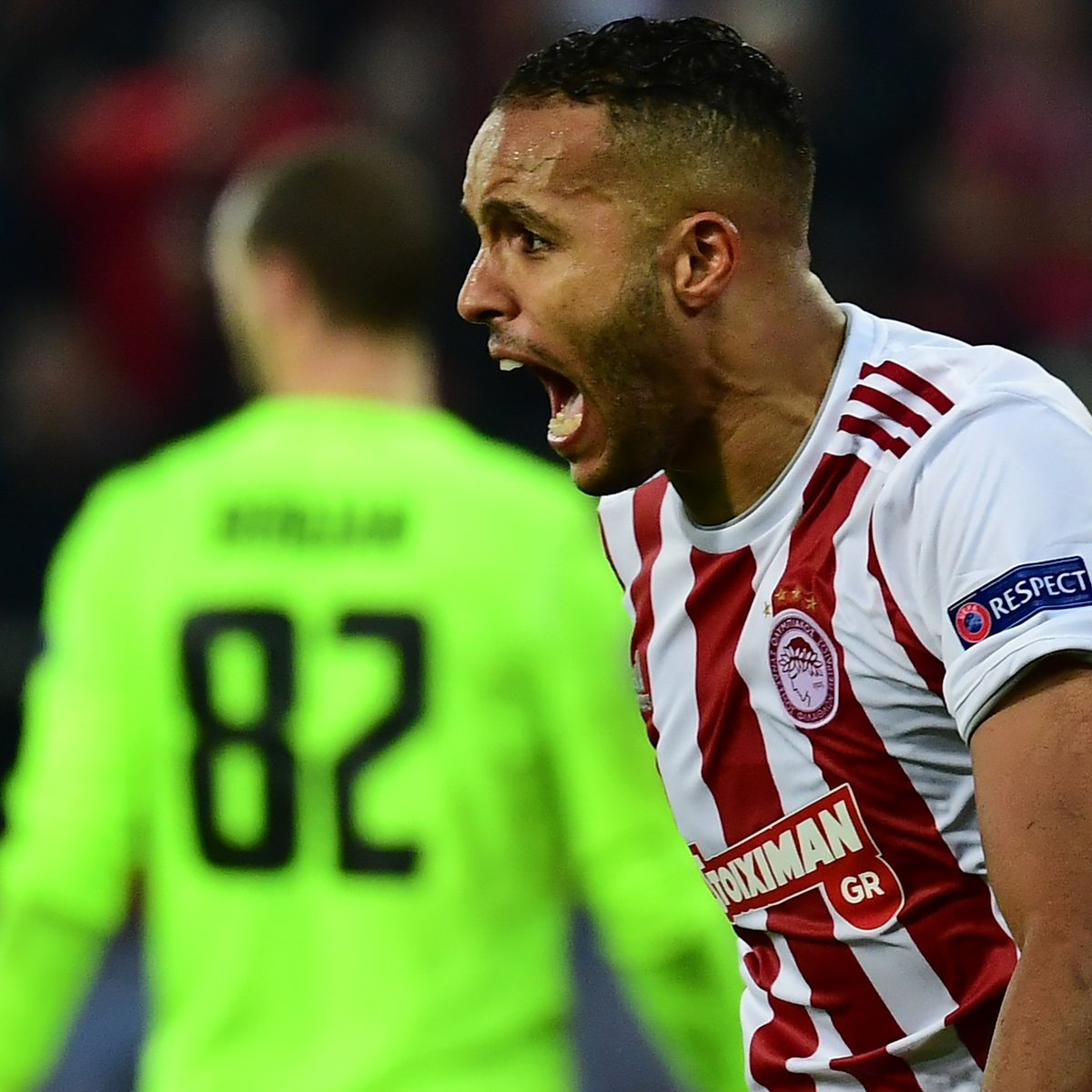 Youssef El Arabi has 10 goals in his last 7 games for Olympiacos (all competitions)    #UEL