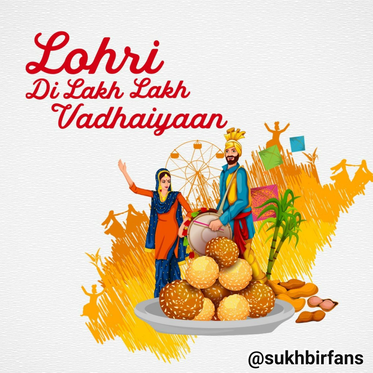 Happy Lohri#rabrakhaੴ . . . #lohri #happylohri#happylohri #SukhbirSinger #sukhbir #sukhbir_singer #sukhbir_singh #sukbir #sukhbirfans #peacepic.twitter.com/iUI9kfTUWU
