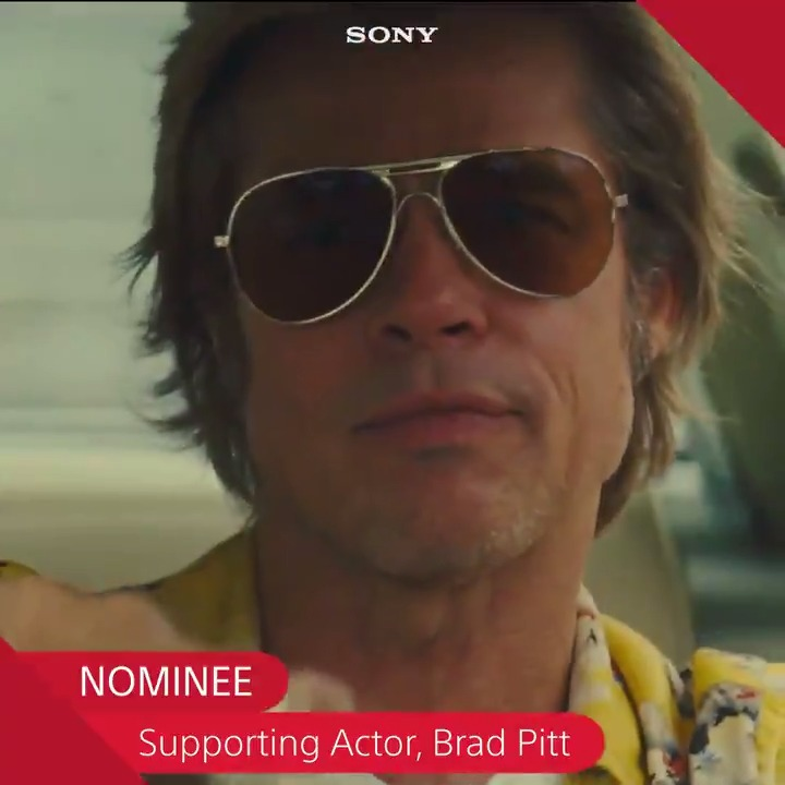Shoutout to @OnceInHollywood, @LeoDiCaprio, Brad Pitt, and Quentin Tarantino for their 10 @TheAcademy nominations. #OnceUponATimeinHollywood #Oscars2020 #Oscars