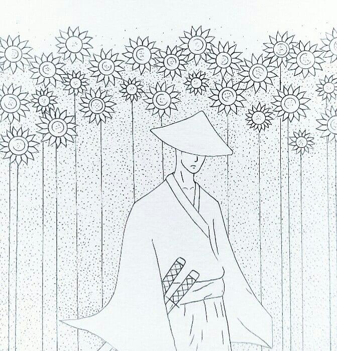 The Sunflower Samurai  - Seisou Kasumi from Samurai Champloo  #samuraichamploo #artist #paint #sketchaday #fanart #anime #sketching #micron #tattoo #kawaii #instaart #instaartist #drawing #instadraw #instasketch #painting #sketch #watercolor #royaltalens #myart #artpic.twitter.com/cfE5n8N6X9