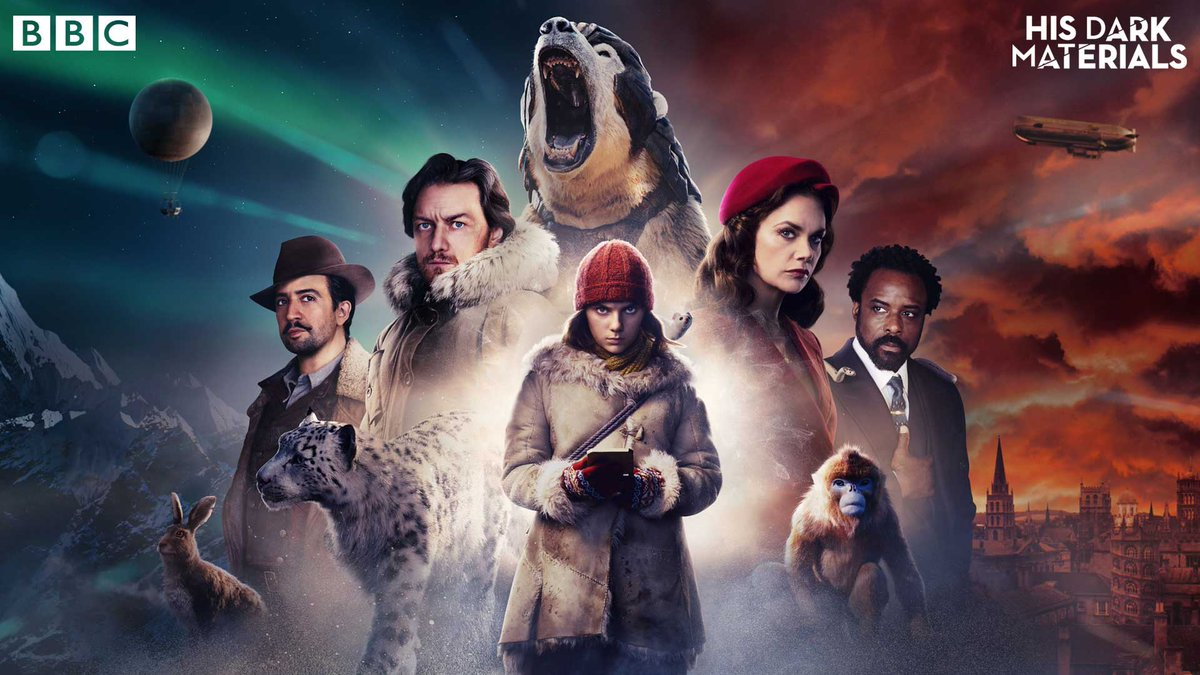 #HisDarkMaterials is streaming now on @BBCiPlayer: bbc.in/2r8W9YF