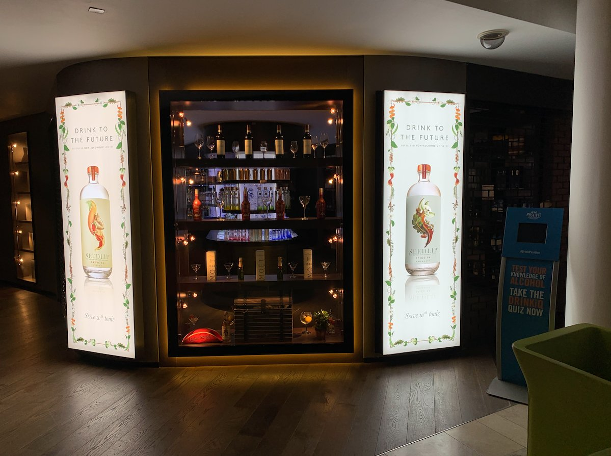 Diageo's first advertising campaign for the non-alcoholic 'spirit' brand Seedlip is now up and running! Check out the latest visuals... <br>http://pic.twitter.com/QPL23WQT4z