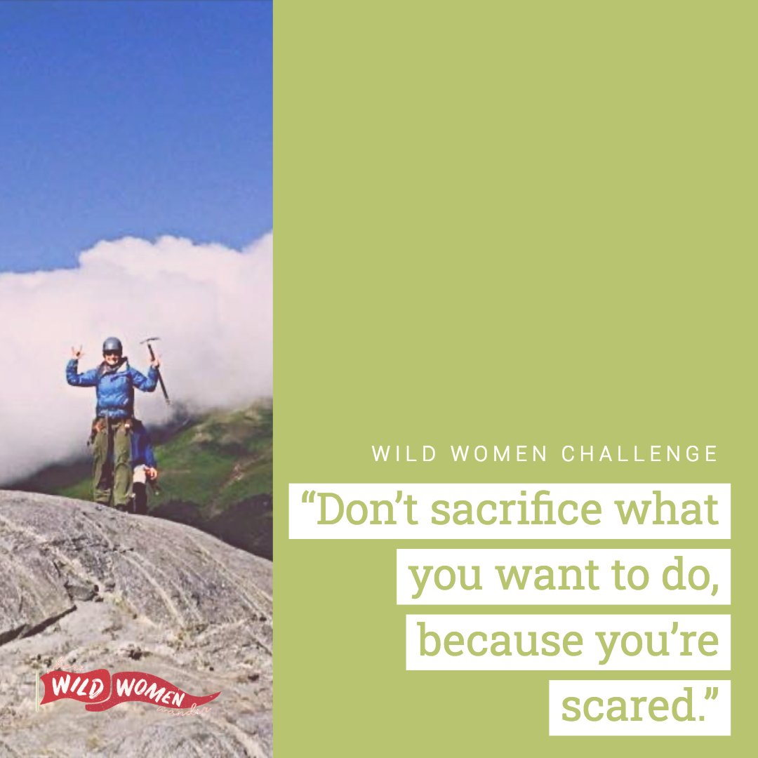 Emmy's challenge asked us to pay attention to the things in life that we've been thinking about doing, but then realize we're holding back because we're simply terrified of trying.  How did you take on Emmy's #WildWomen Challenge? We want to know! pic.twitter.com/k8YCwJSn2i