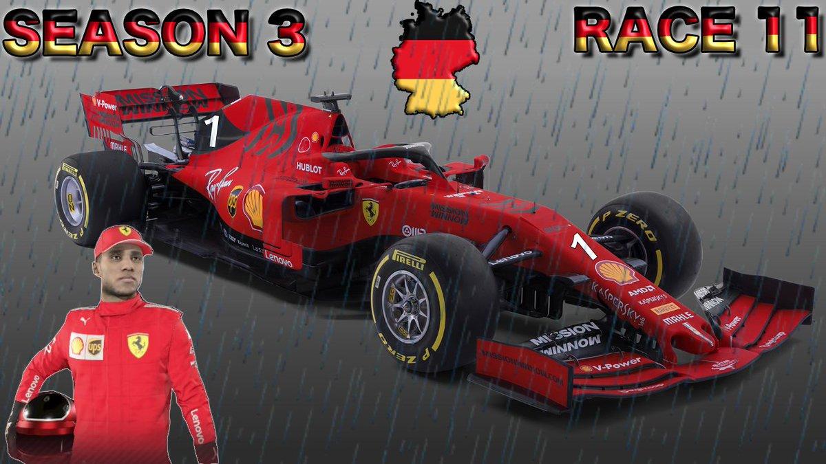 #F12019CareerMode #GermanGrandPrix #FerrariF1 #Season3 #Race11 #Round11 #F12019 #F1 #Vettel #Hamilton #Verstappen #CareerMode #GermanGP #26Laps #Qualifying #Livestream #Commentary #RoadTo700Subs #F12019Gameplay #YouTube #Subscribe Watch Live Now: https://youtu.be/VWq2N5vdnP4