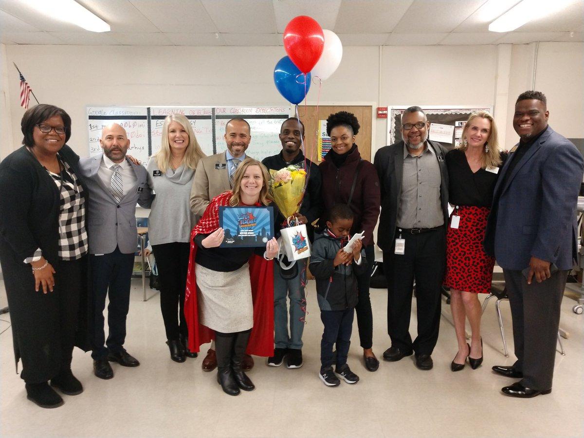 #RISDCelebrates🎉 #SuperTeacher @LakeHighlandsHS's Adeyemi Adams! Keep up the super work #RISDsaysomething