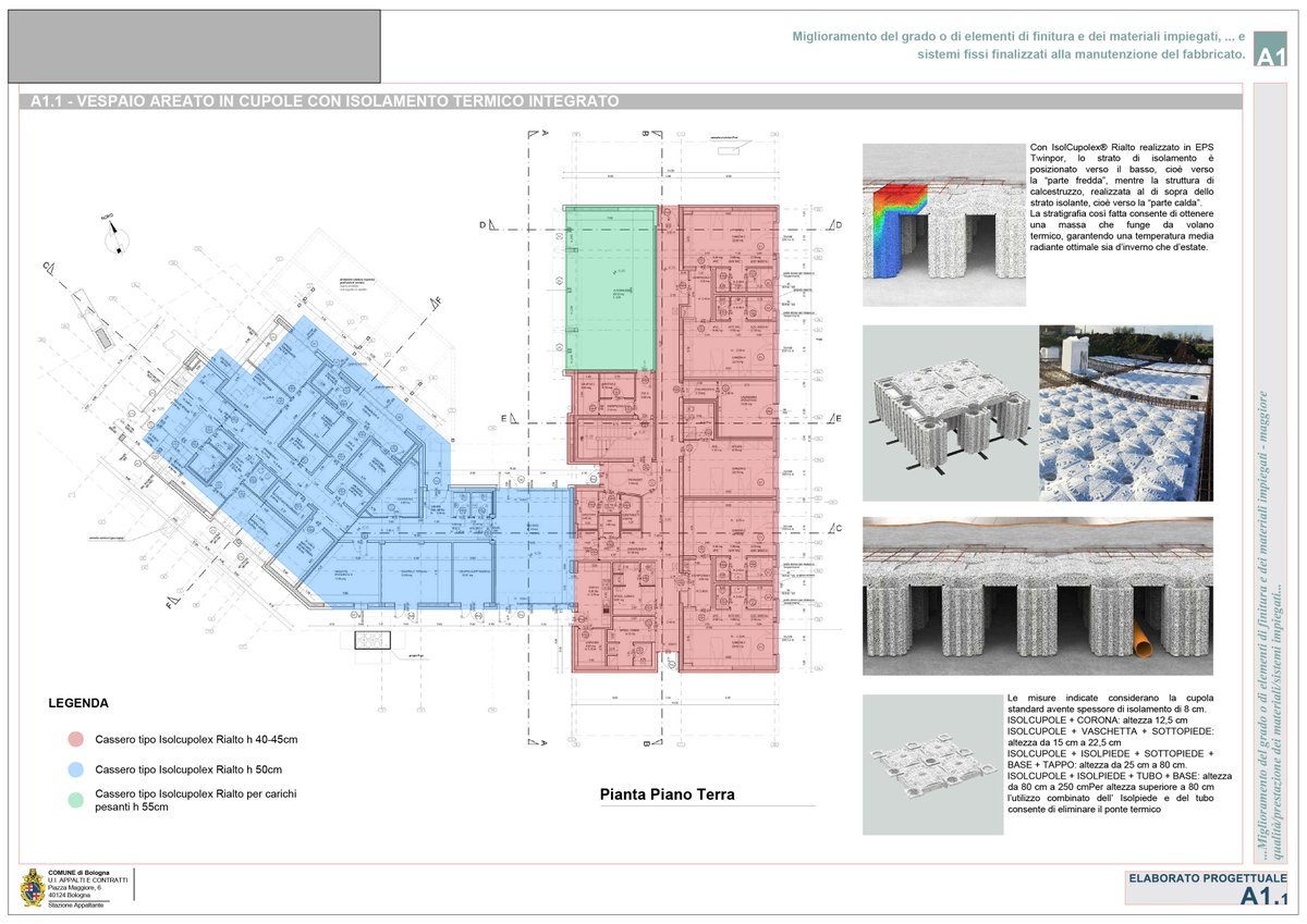 Vespaio Areato Altezza Minima micsa studio - integrated building services (@micsastudio