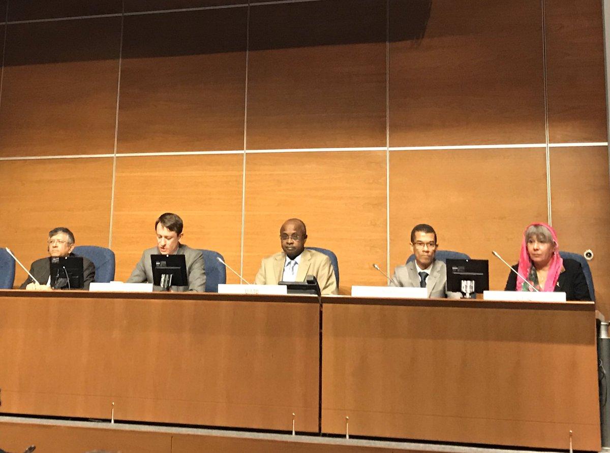 Ouverture par @phbertoux en tant que président du Comité du transport aérien de la 11ie réunion du panel facilitation @oaci @icao : PNR, lutte contre le terrorisme @ONU_fr – at International Civil Aviation Organization (ICAO)