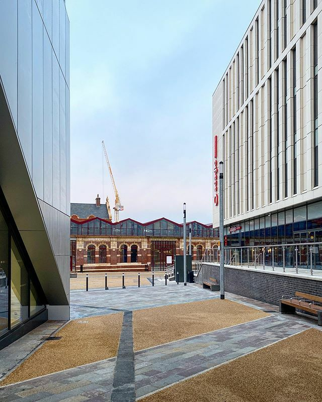 More photos of the @greatcentralsq development with @novotelleicester @adagio_leicester  and soon @lane7_ . 😃 #leicester #england #citycentre #opened #greatcentralsquare #anticipation #exciting #novotel #adagioaparthotel #mixeduse #lane7bowling #cran… https://t.co/TVB9m31JpP https://t.co/mr4LfYt0yy