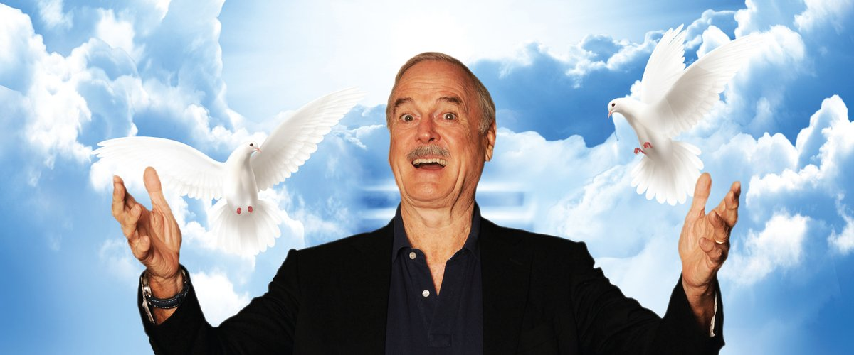 """Don't miss @JohnCleese as he examines the dysfunctional world we live in and """"Why There Is No Hope'' @strathmore The Music Center on Oct 14 for tickets  #Bethesada #DC #DCcomedy"""