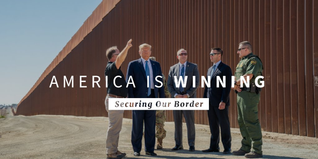 ✅ Better border security technology ✅ Better legal processes ✅ Better international cooperation Years of inaction brought a crisis to Americas border. President @realDonaldTrump brought solutions.