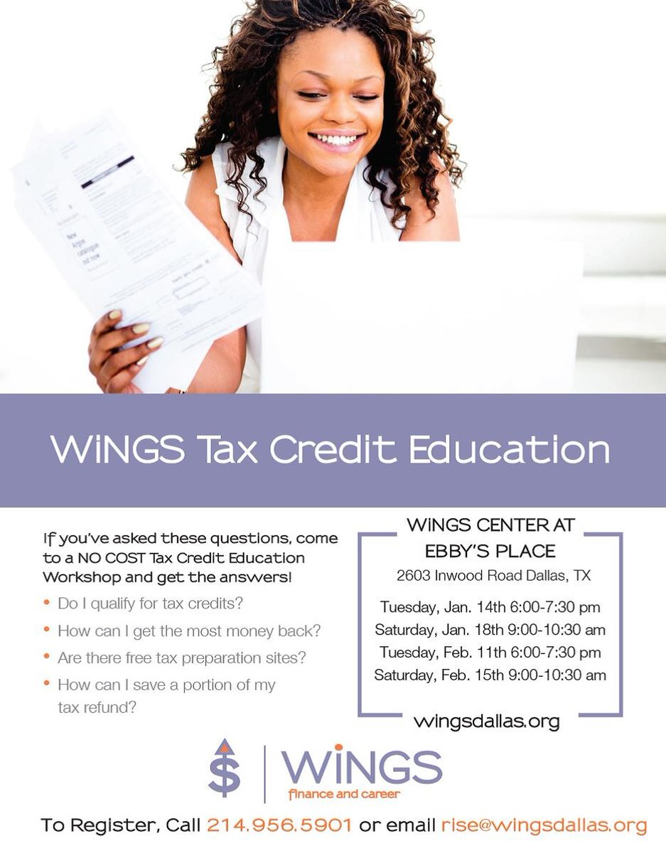test Twitter Media - Join us at WiNGS to learn about resources for filing taxes, and about the credits that are available! This class is available in English and Spanish. Call to learn more or to register: 214.956.5901 https://t.co/MkCC13nJKR