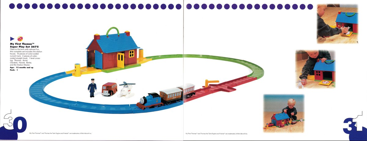 MY FIRST THOMAS GOLDEN BEAR TRAIN TRACK CURVES STRAIGHT POINTS CROSSING