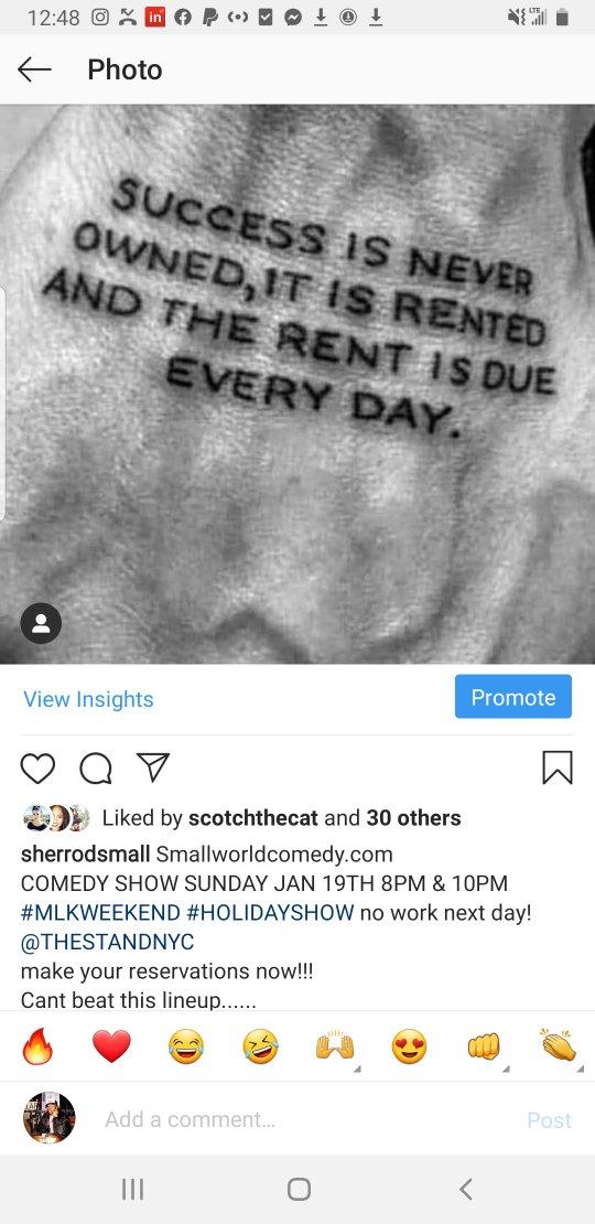 Smallworldcomedy.com @TheStandNYC Sunday jan 19th 8pm & 10pm