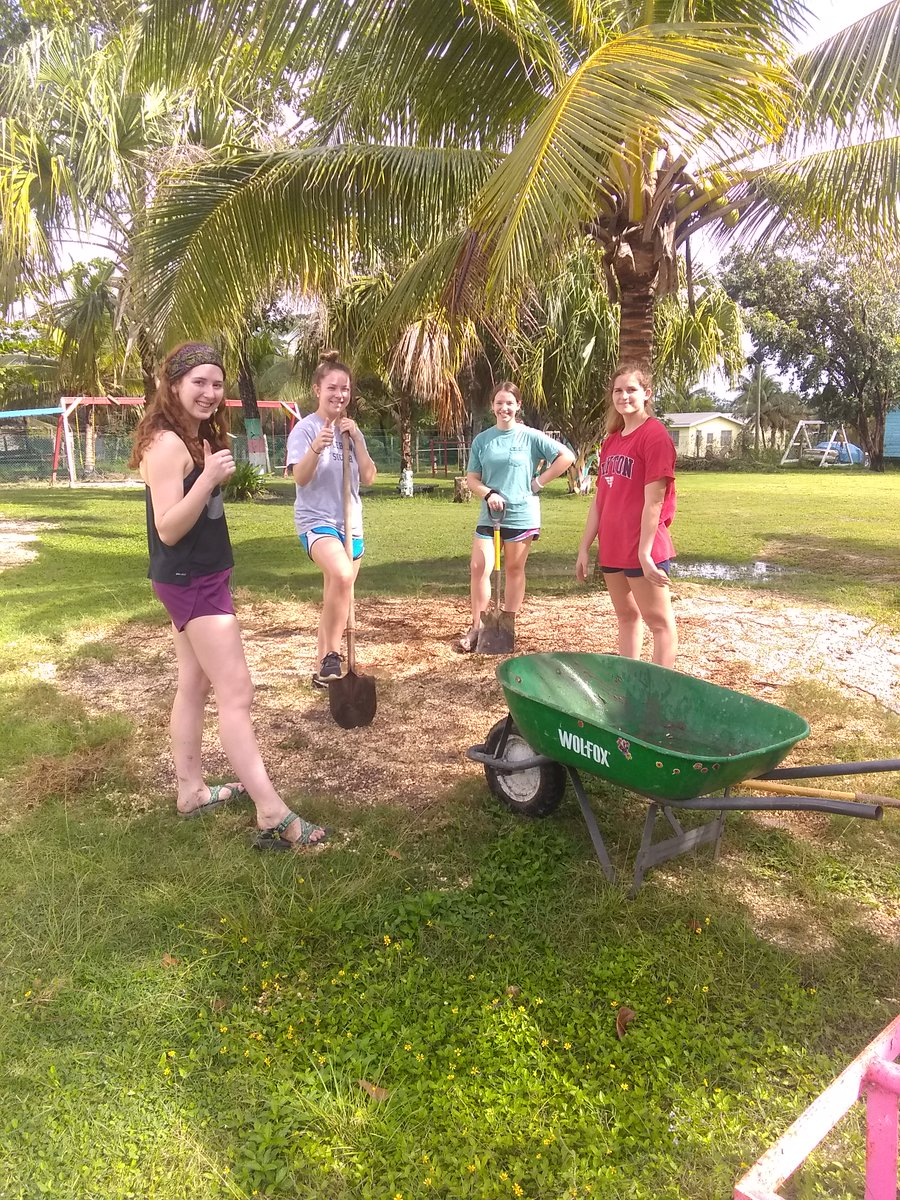 Our yearly group from Dayton University (16 students) are helping at the Belize 🇧🇿 Orphanage Jan 4 to 11, 2020. day 3 to 6. https://www.abroaderview.org/volunteer-in-belize… #udayton #volunteerabroad #belize #gapyear #dogood #abroaderview #travel #trip #volunteer #volunteering #missiontrip