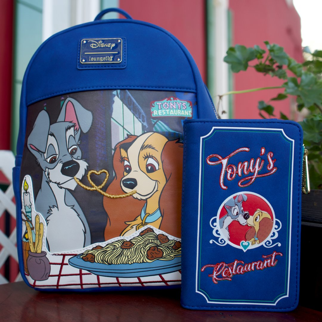 Loungefly On Twitter Two Spaghetti Specials Heavy On The Cuteness Our Iconic The Lady And The Tramp Collection Is Now Available Complete With A Mini Backpack And Wallet Shop Newarrivals Https T Co Wd7v5ynuo0 Loungefly