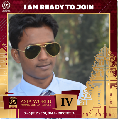 "I am Md. Imrul Hasan and I'm proud to be a part of Asia World MUN IV in Bali, 3-6 July 2020. "" I'm a dreamer, but I'm not the only one. I hope someday you'll join us. And the world will live as one"" I'm ready to make a change! Are you ready for this change?  #AsiaWorldMUN #AWMUN https://t.co/r5CrS89lw2"