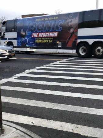 Sonic The Hedgehog On Twitter Never Seen A More Iconic Bus