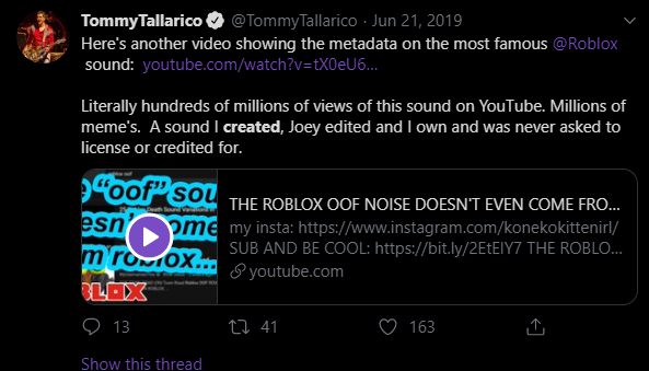 Krunnie Pinned Tay On Twitter Oh So Roblox Didn T Steal