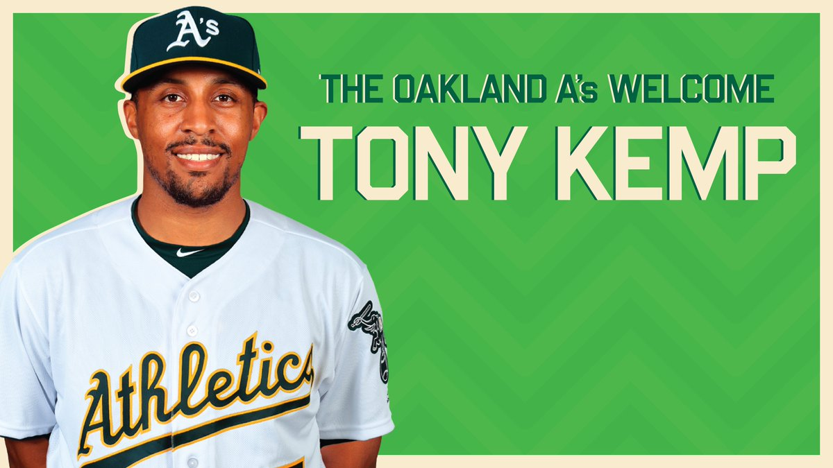 @Athletics's photo on Tony Kemp