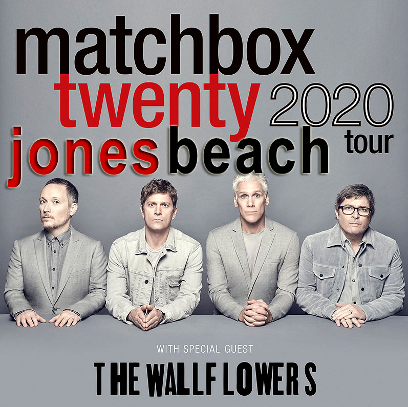 "Matchbox Twenty 20 & the Wallflowers ~ ""If You're Gone"" 20th Anniv Mad Season ~ Wed, July 22, 2020 -    https://t.co/XBthtEEbhG - https://t.co/iziyNq2YYp - #matchboxtwenty  #jonesbeach #jonesbeachtheater #jonesbeachamphitheater ♫ #longisland #newyork  #NewYorkCity @RobThomas https://t.co/eguRw4Fwlv"