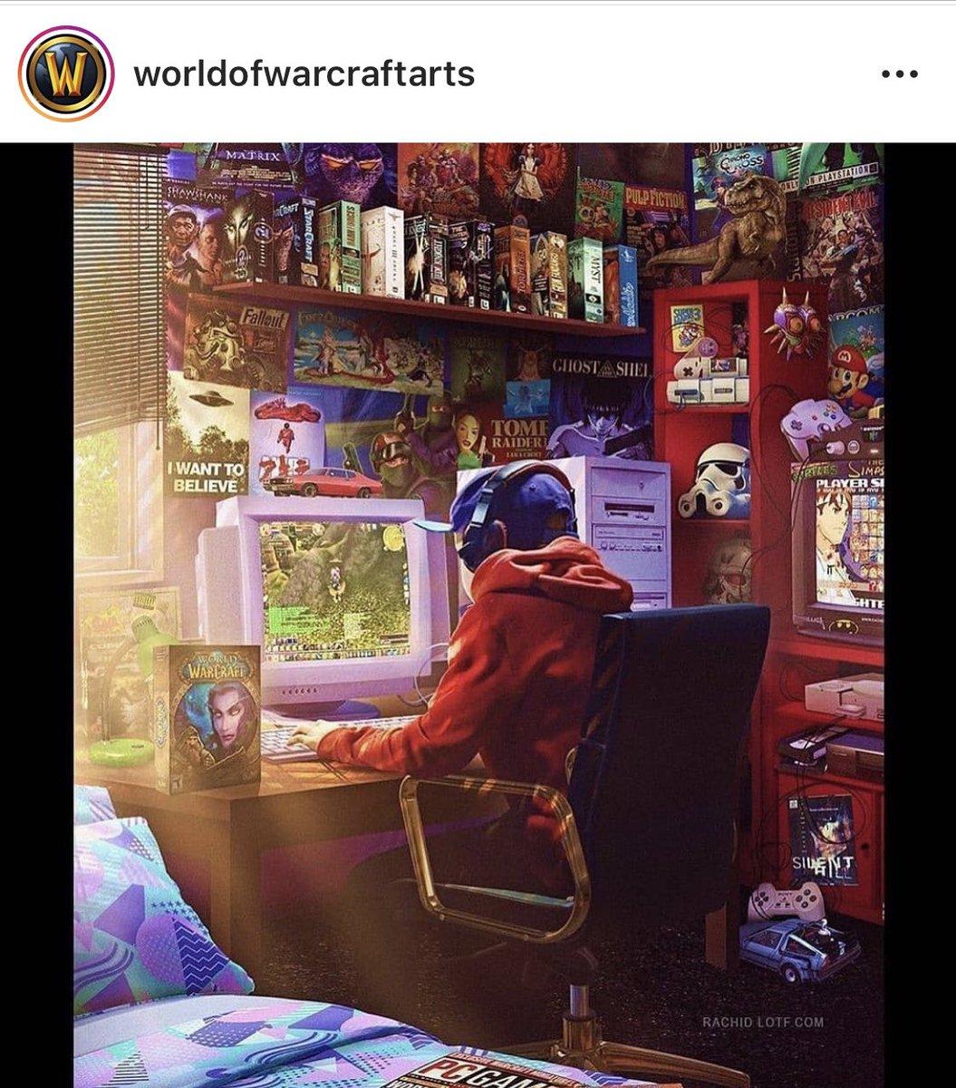 Me flipa esta imagen que ha subido a instagram en la cuenta de worldofwarcraftarts !! #gamingart #gamedev #gamingdev #gameartistpic.twitter.com/cIzwgiq3Gb