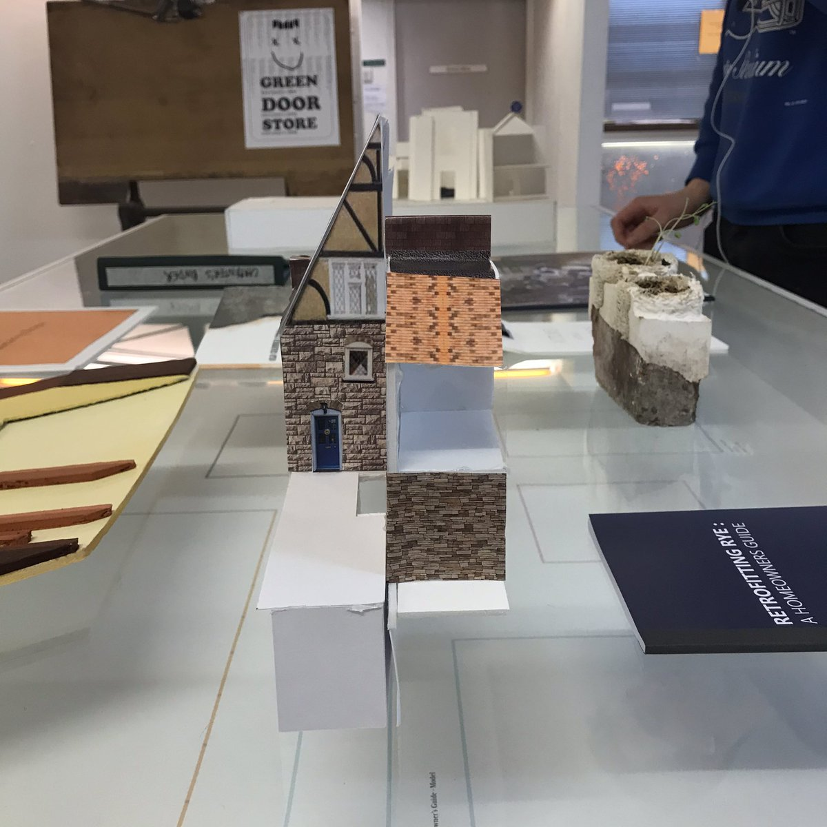 This term our @artsbrighton MArch Studios are showcasing Work in Progress. This week it's the turn of Design is Research Studio led by @charlesjholland and Holly Lang. Twelve projects and twelve projects dealing with issues of preservation, conservation and adaptation. 1/1