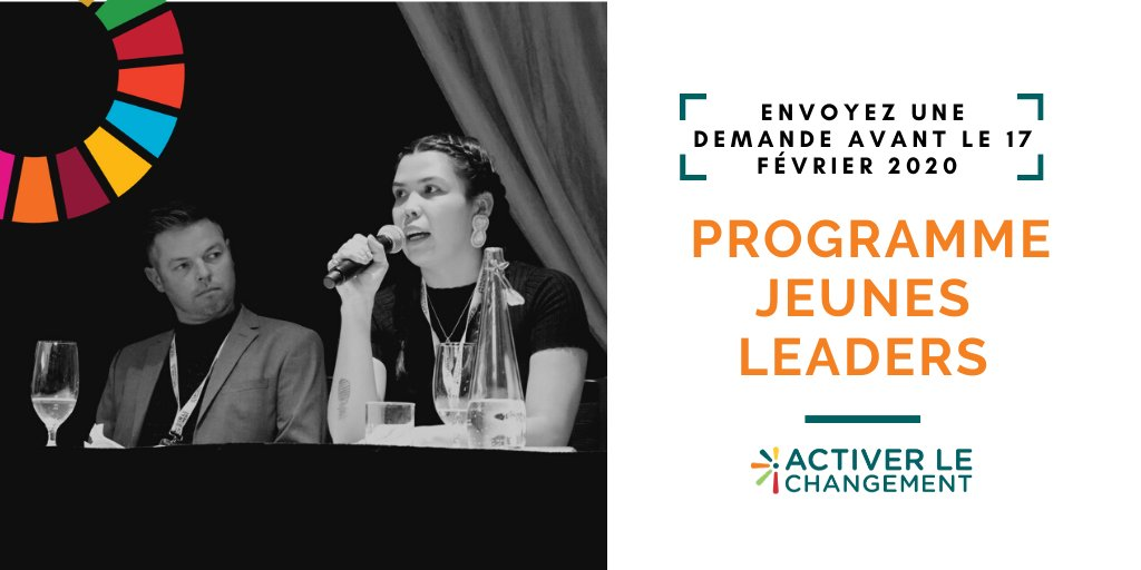 Pour les PMO au Canada, ne manquez pas cette opportunité de nominer un-e #jeune #leader au #Canada ou à l'international pour participer à ce programme ! @Spur_Activer @ICN_RCC https://t.co/nUfAAJlpZA