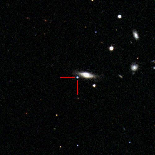 The Type Ia supernova 2019zjh in LEDA1388201, 310 million light years away. #ucsctransients #swopetelescope