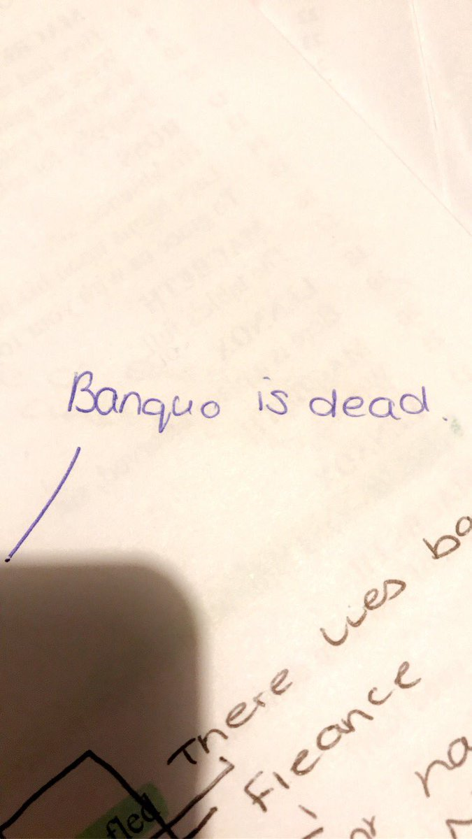 why does macbeth want banquo and fleance dead?