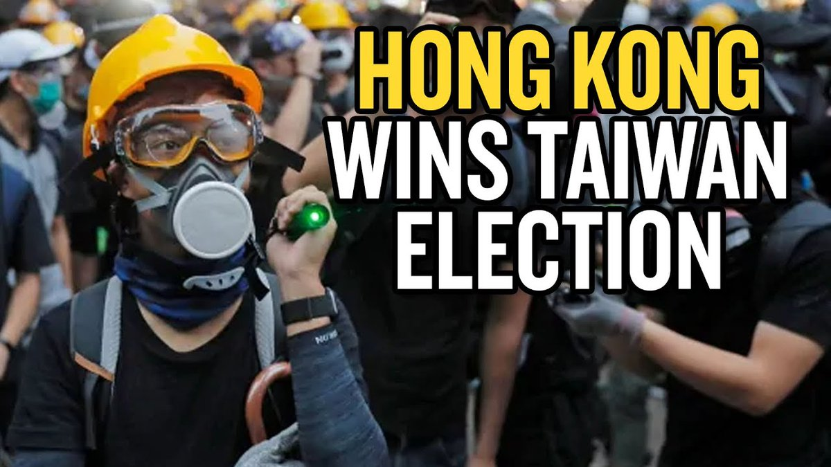 How Hong Kong and Anime Won Taiwan's Election. And of course, YouTube demonetized this episode. Take that democracy! @TeamYouTube #TaiwanElection  #Taiwan2020    https://www. youtube.com/watch?v=pYg626 PQyOA  …  <br>http://pic.twitter.com/xVzPE71nAX