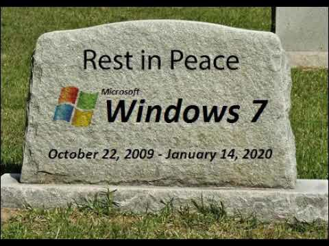 Starting today if your computer is running Windows 7, you and your computer are at risk. #Windows7 #Microsoft <br>http://pic.twitter.com/qAcYs17LFH