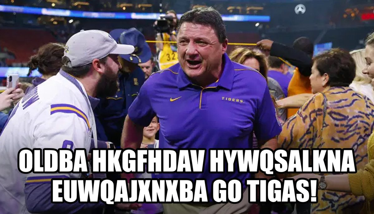 Nfl Memes On Twitter Ed Orgeron Your Thoughts On Winning The