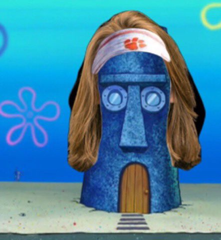 squidward house head looking ass foh @Trevorlawrencee