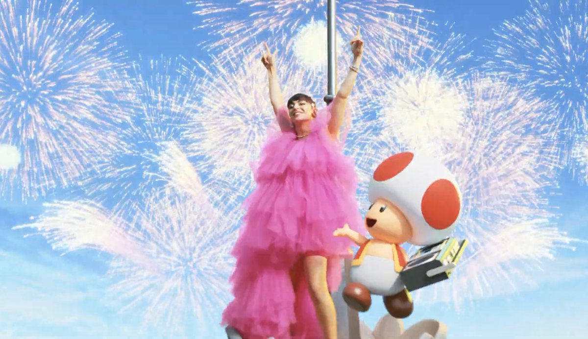 name a better duo than charli xcx and toad !