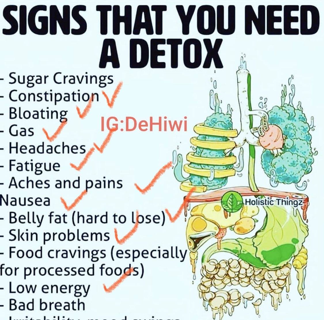 10 out of 13. I'll tell you what kind of #detox I need: BIRTH. #Thisis39weeks