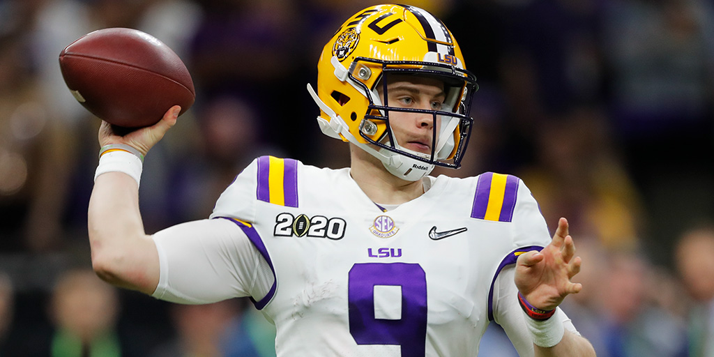 Heisman Trophy ✔️ National championship ✔️ Most pass TDs in a single season in FBS history ✔️  What a way to go out, Joe Burrow.