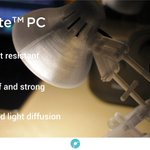 Image for the Tweet beginning: PolyLite™ PC is produced using